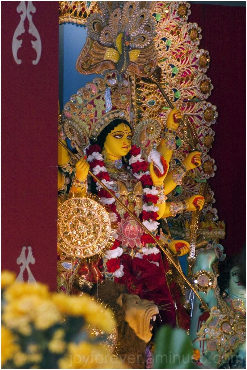 durga-puja goddess idol festival new-jersey GSCA