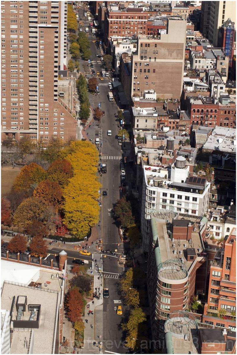 Manhattan New-York-City downtown WTC street USA