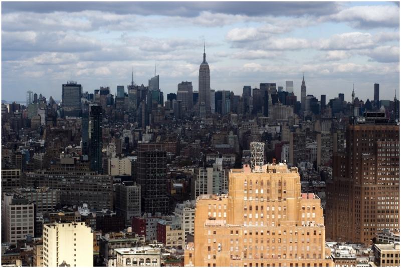 manhattan new-york-city skyline wtc usa cloud