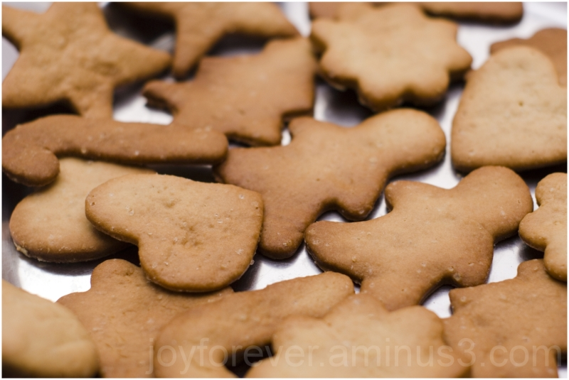 cookies baking new-year cookie-cutter baked