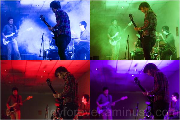 rock band guitar guitarist drum drummer colors