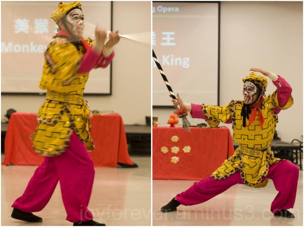 china chinese peking opera NJIT Monkey-King dance