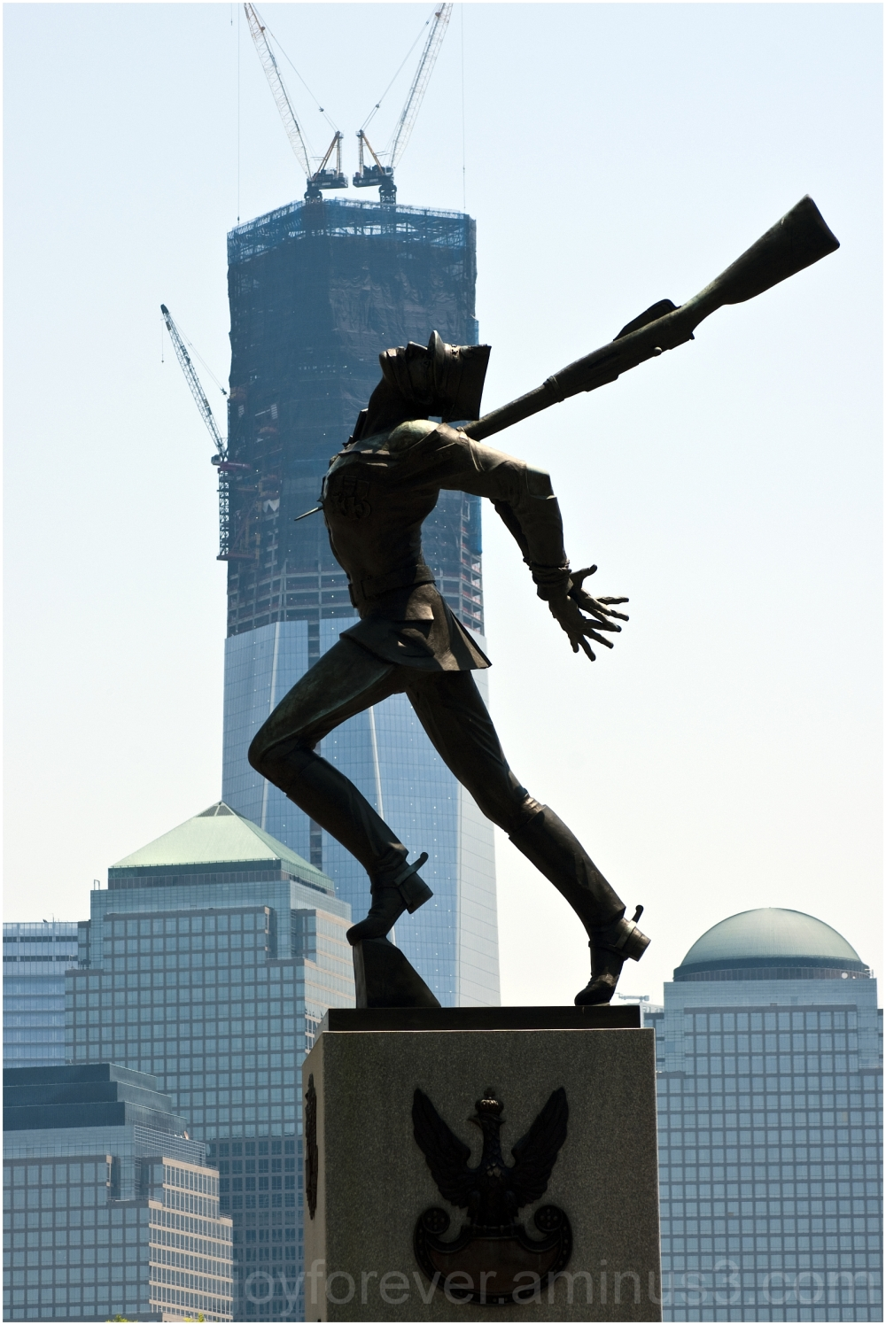 Katyn-Memorial jersey-city exchange-place WTC NYC