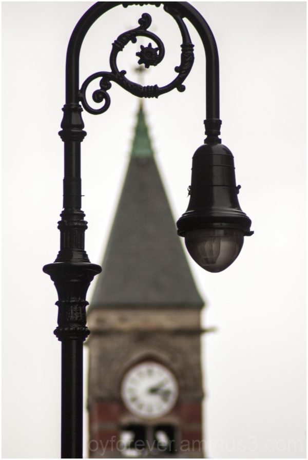 lamp streetlight clock tower frame lamp-post light