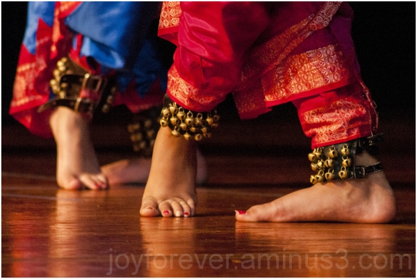 Indian classical dance dancer feet anklet