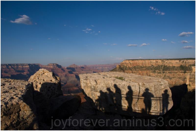 Grand-Canyon Mather-Point Shadow rock arizona