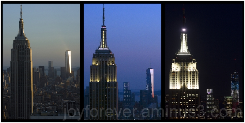Empire-State-Building Freedom-Tower WTC New-York