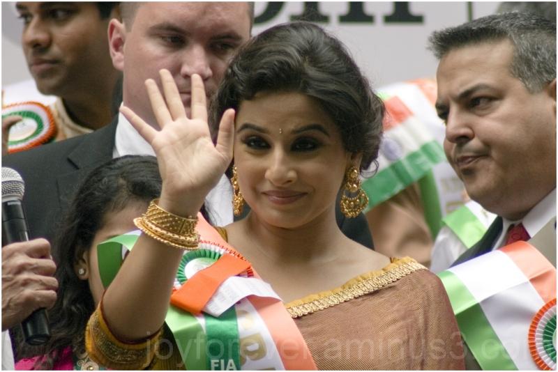 Vidya Balan actress woman India Bollywood NYC