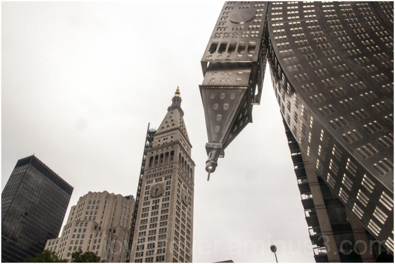 metlife building skyscraper New-York art Manhattan