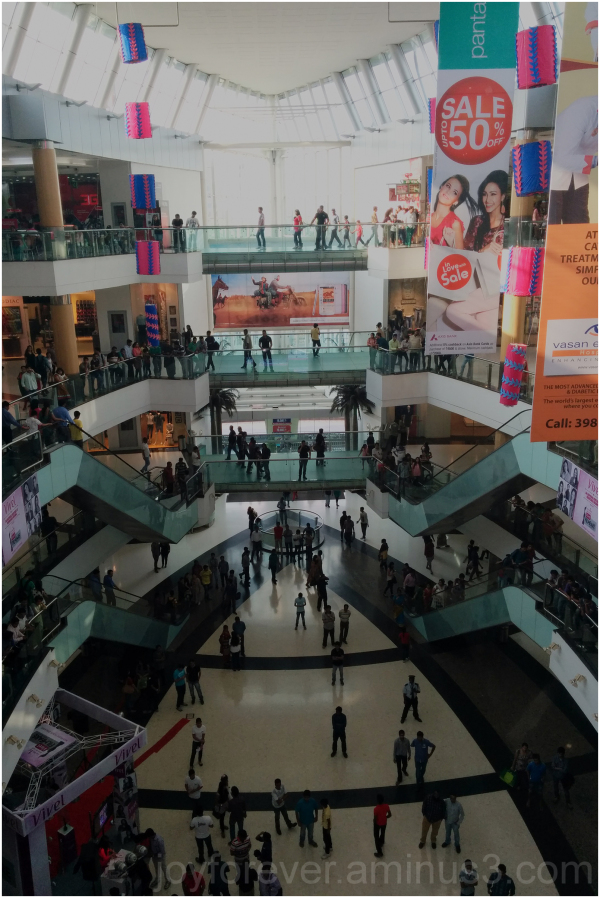 Mall Kolkata South-City shopping India