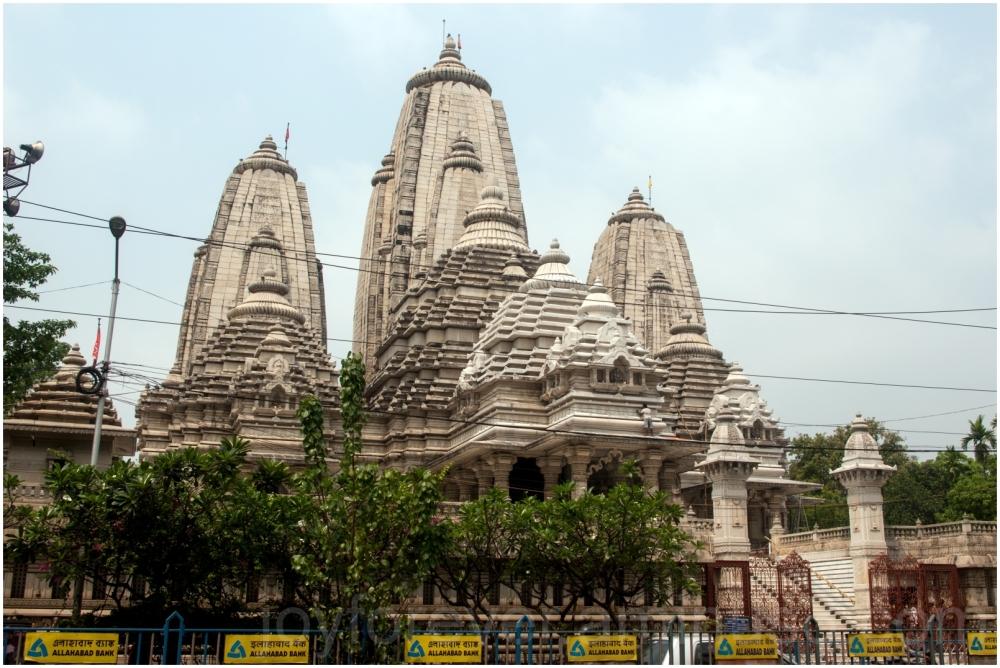 Birla temple Kolkata Hindu sculpture India