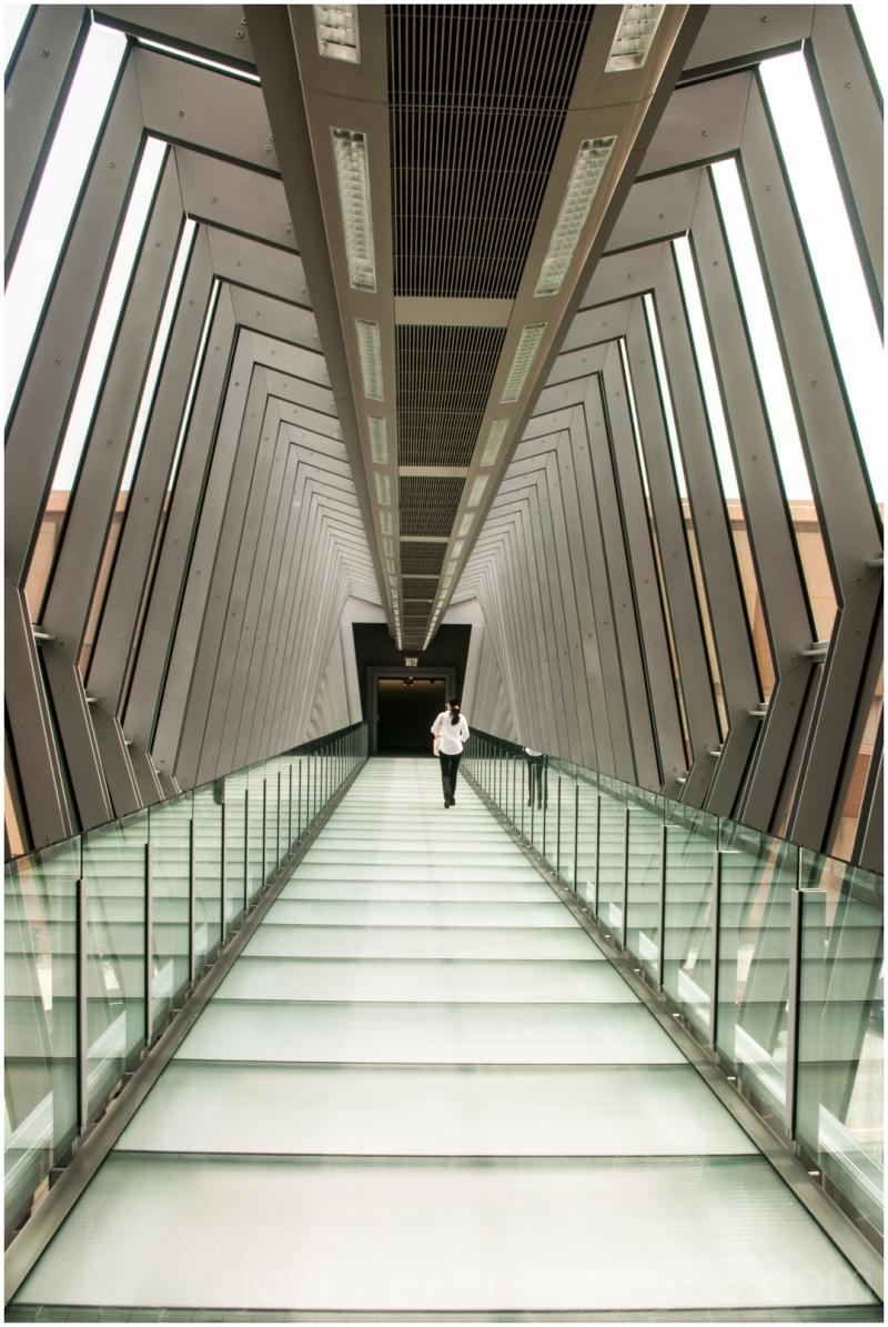 bridge passage tunnel corridor Columbus Ohio
