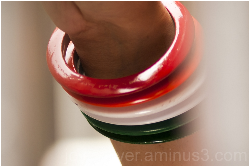 India tricolor Independence-day bangles hand