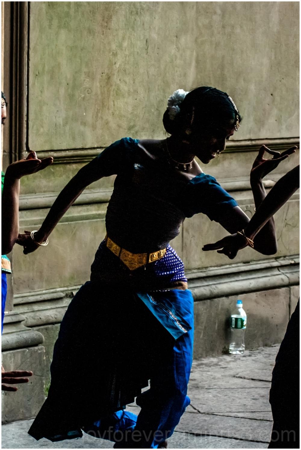 Indian girl woman dancer Bethesda Central-park NYC