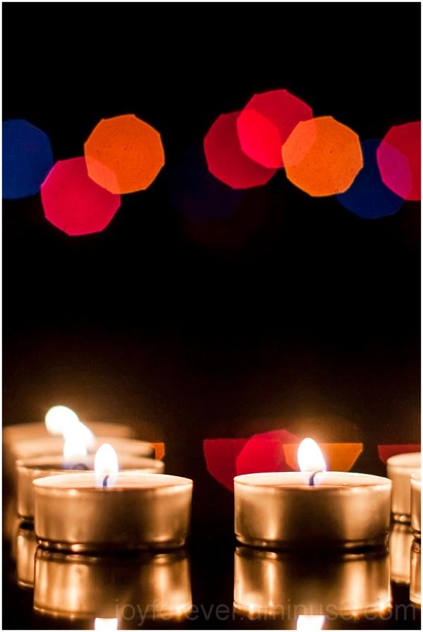 Diwali Indian Hindu Festival lamp candle bokeh