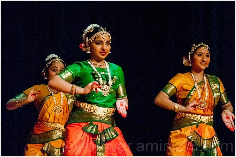 Indian classical dance Bharatnatyam woman girl