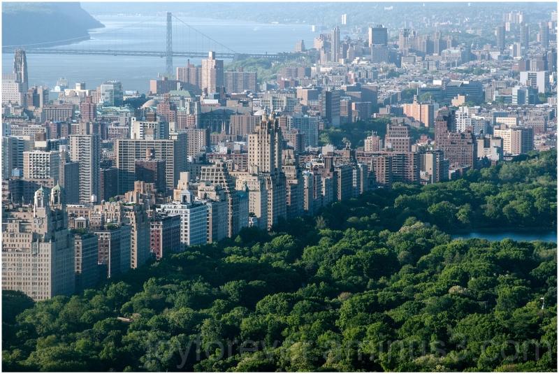 Central-Park New-York-City Manhattan GWBridge NYC