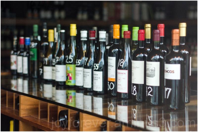 wine bottle liqueur store window alcohol Cambridge