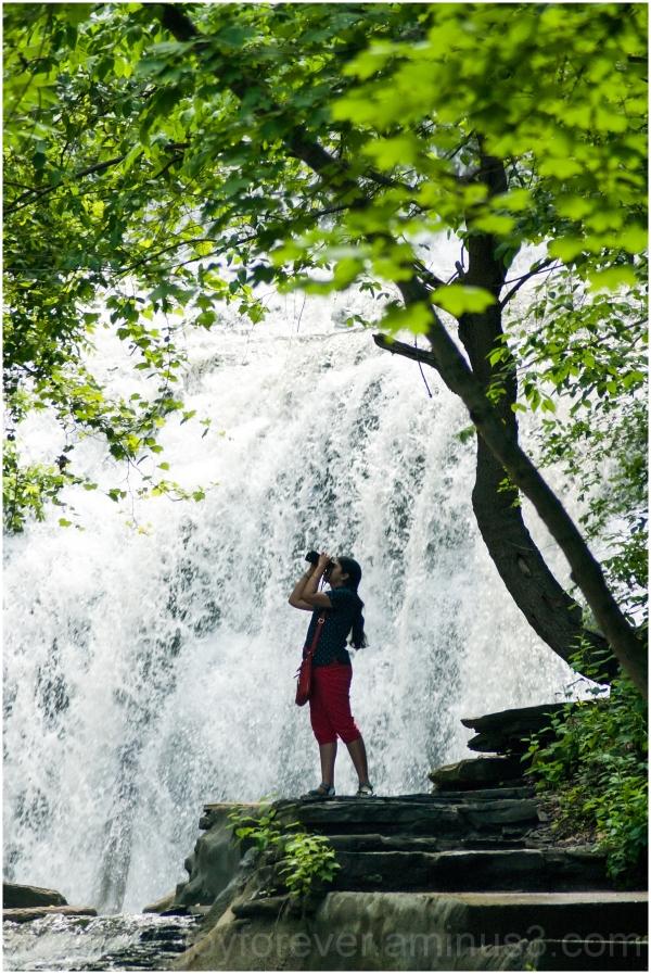 Cascadilla Gorge Waterfall Ithaca NewYork