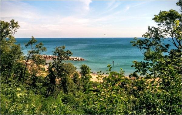lake water michigan lakeforest Illinois beach blue