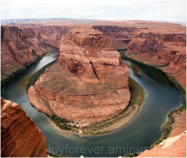Horseshoe-bend colorado river grand-canyon page AZ