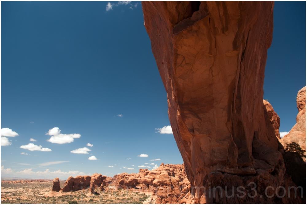 Rock Arches-National-Park mountain rock sky