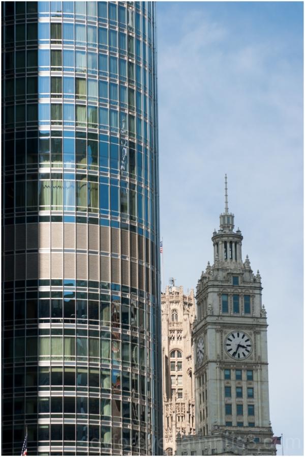 Chicago skyline cityscape Illinois skyscraper