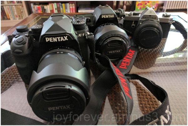 Pentax DSLR MX K7 K1 FullFrame camera