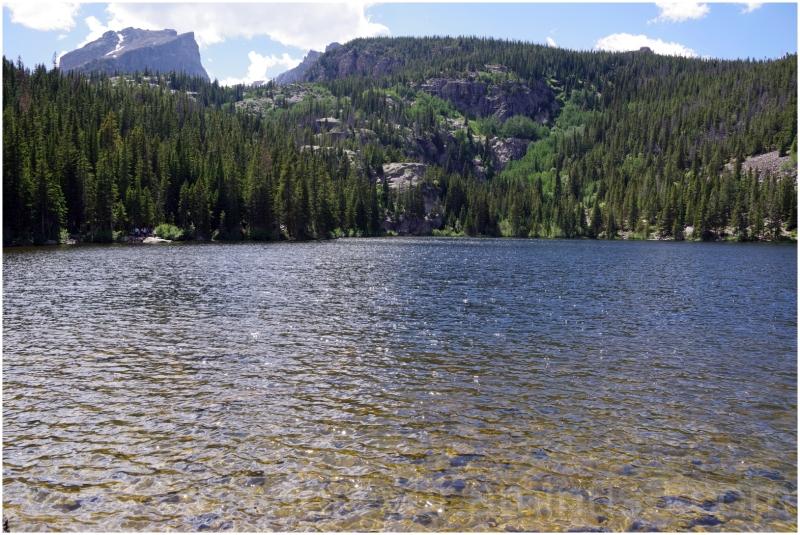 Bear-Lake lake water mountain rocky colorado