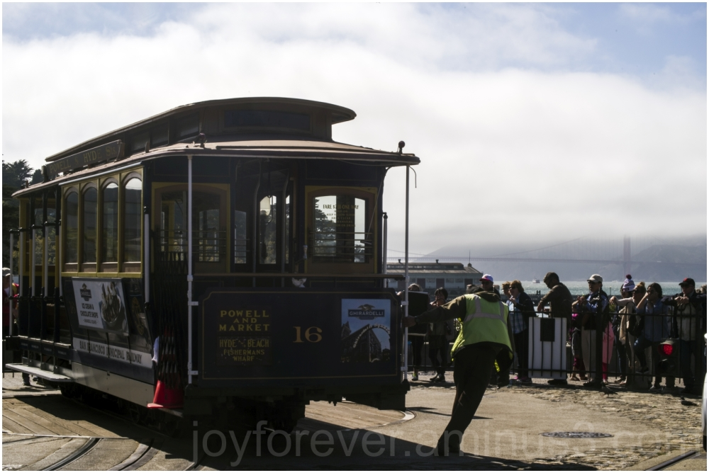 SanFrancisco Street california CableCar