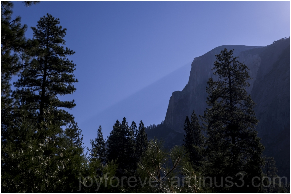 halfdome mountain granite cliff yosemite shadow