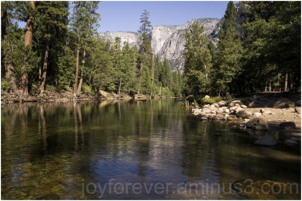 Yosemite Merced river NationalPark mountain water
