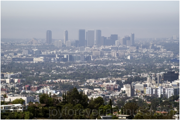 LosAngeles Griffith Observatory city skyline CA