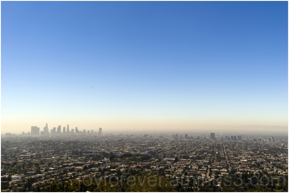 LosAngeles Griffith Observatory city skyline CA