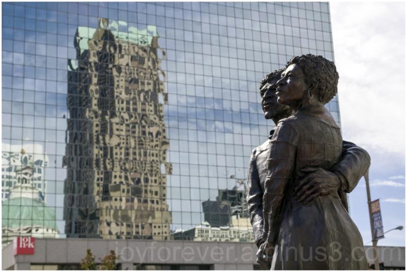 statue sculpture dredd scott stlouis missouri USA