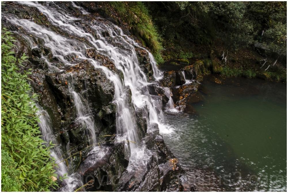 ElephantFalls waterfall Shillong Meghalaya India