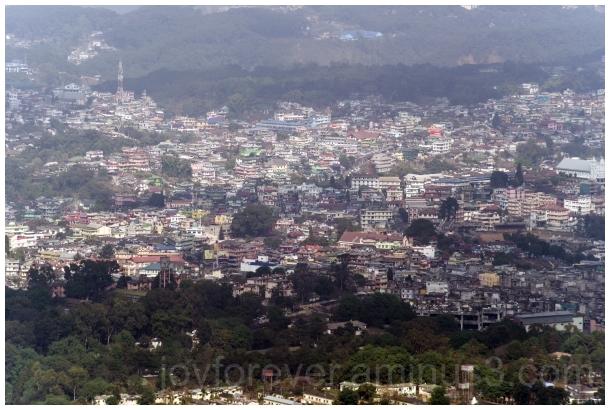 Shillong Mountain city Meghalaya India