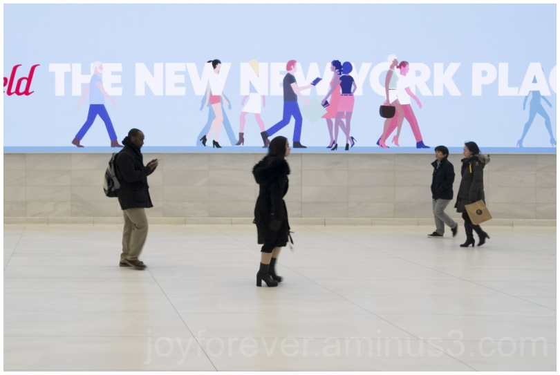 WTC Station WorldTradeCenter screen NYC Walking
