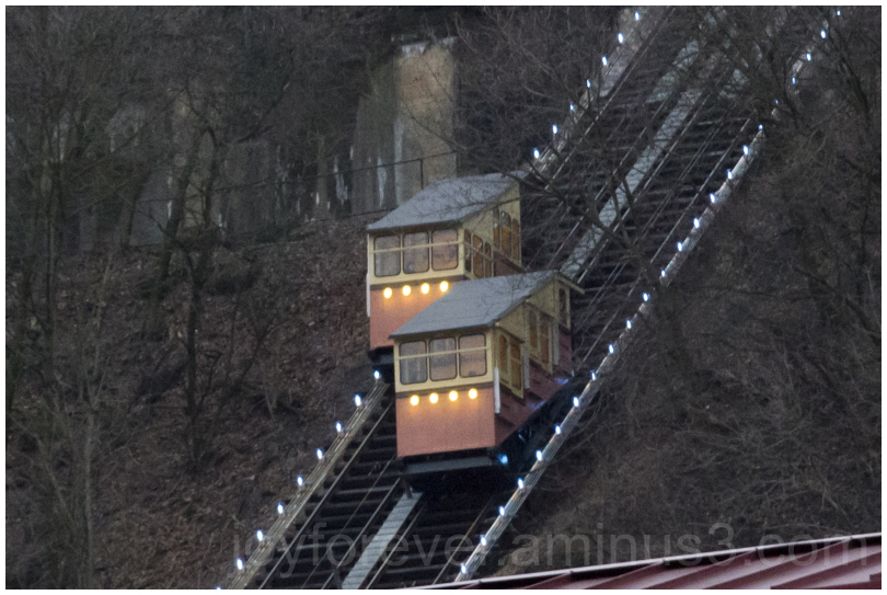 Monongagena incline cablecar pittsburgh PA USA