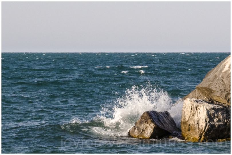 lake Michigan LakeMichigan water waves rocks IL
