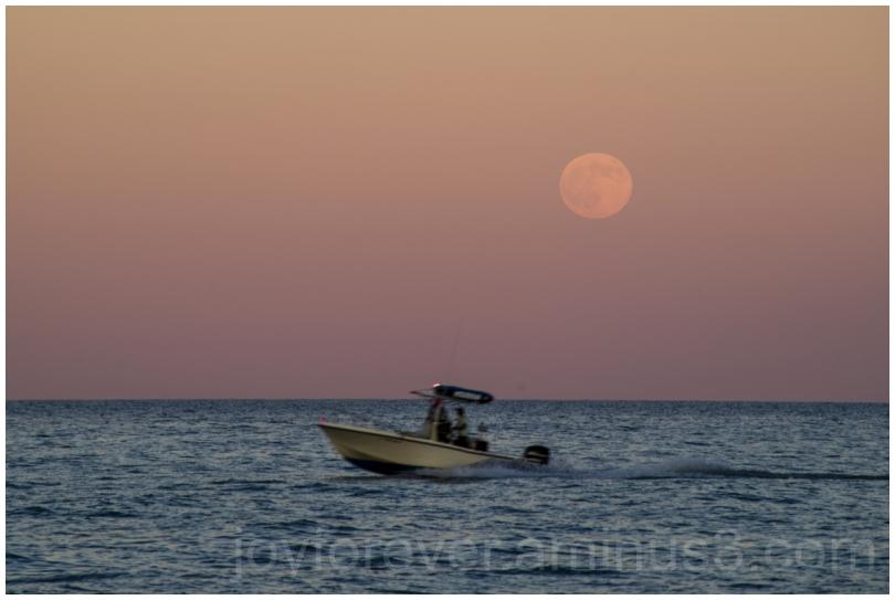 Moon moonrise lake Michigan LakeMichigan water IL