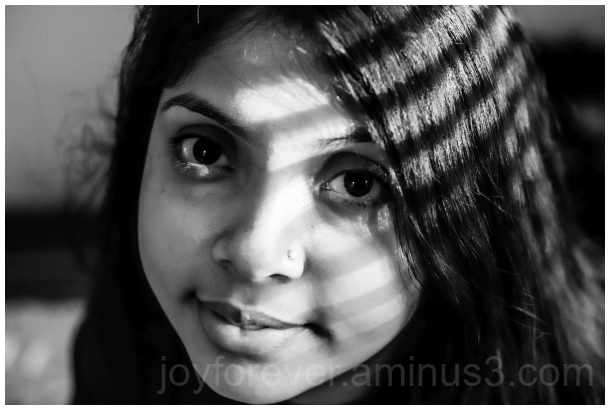 woman black&white B&W portrait face shadow wife