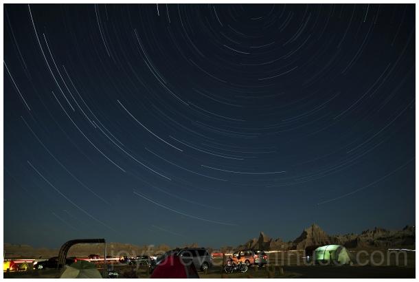 prairie stars night Badlands SouthDakota trails