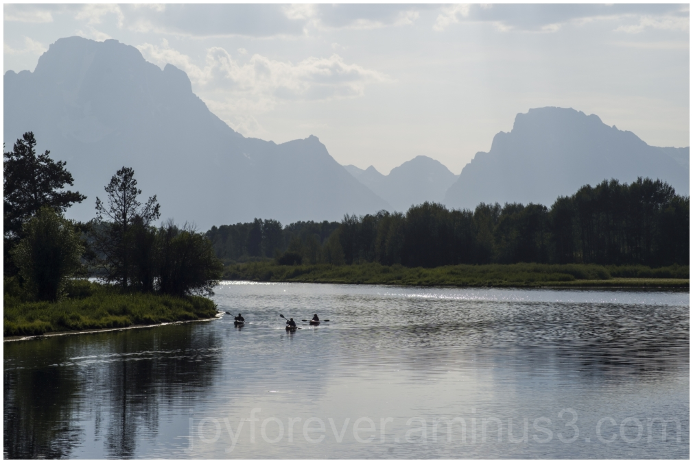 GrandTetons ColterBay mountains river reflections