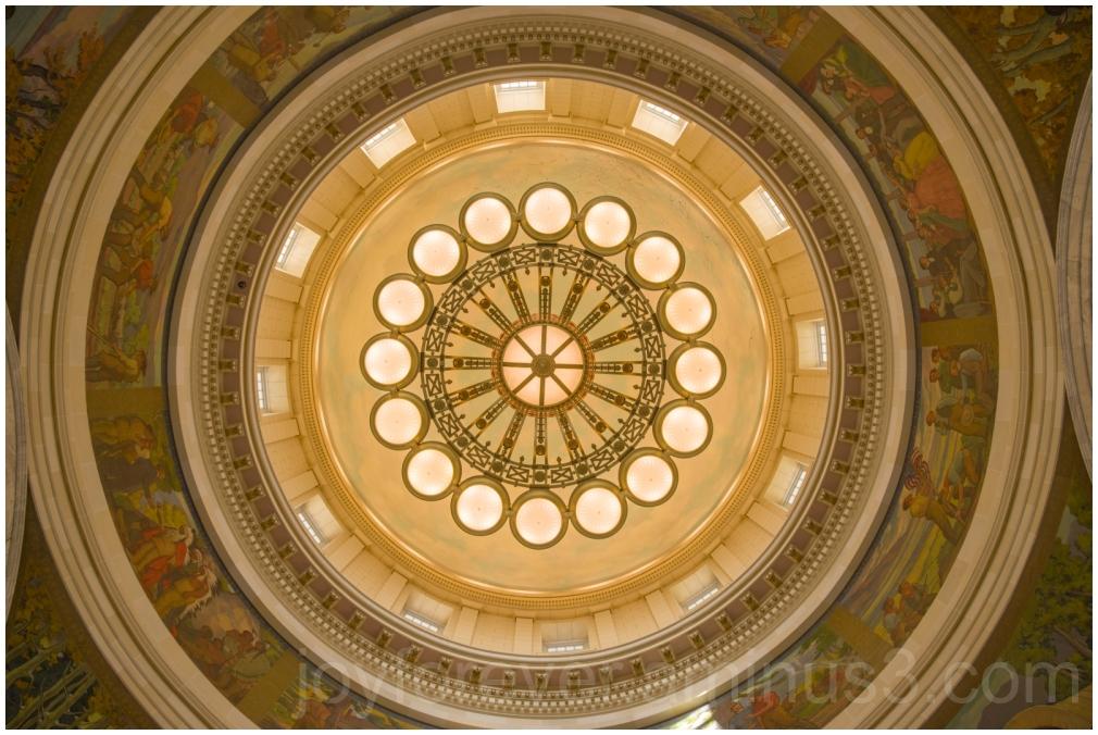 Utah Capitol Rotunda Chandelier SaltLakeCity dome