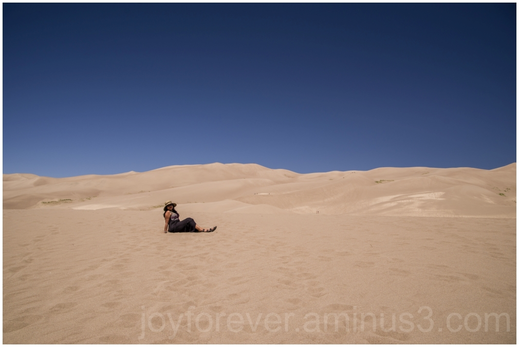 sanddunes dunes GreatSandDunes woman Colorado