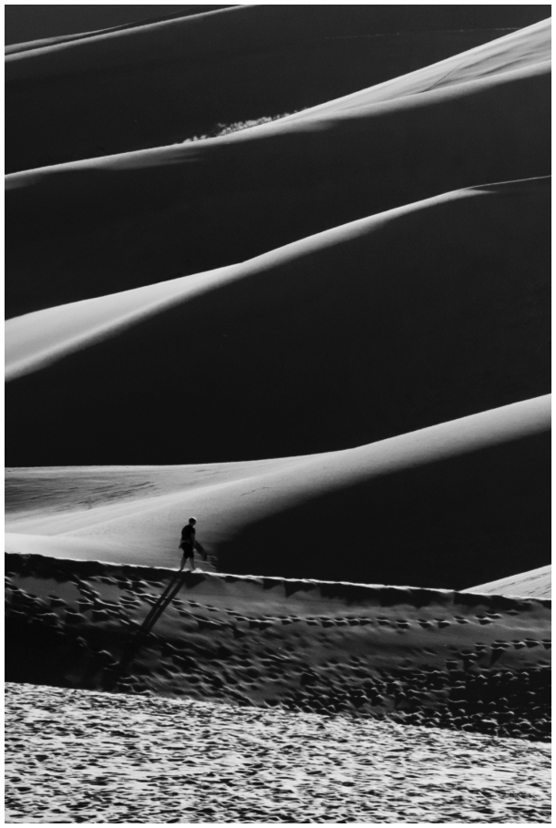 sanddunes dunes GreatSandDunes black&white B&W CO