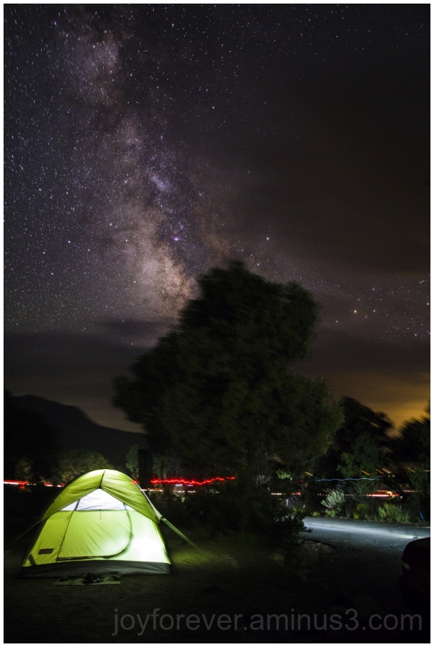 night sky stars milkyway camping tent SandDunes