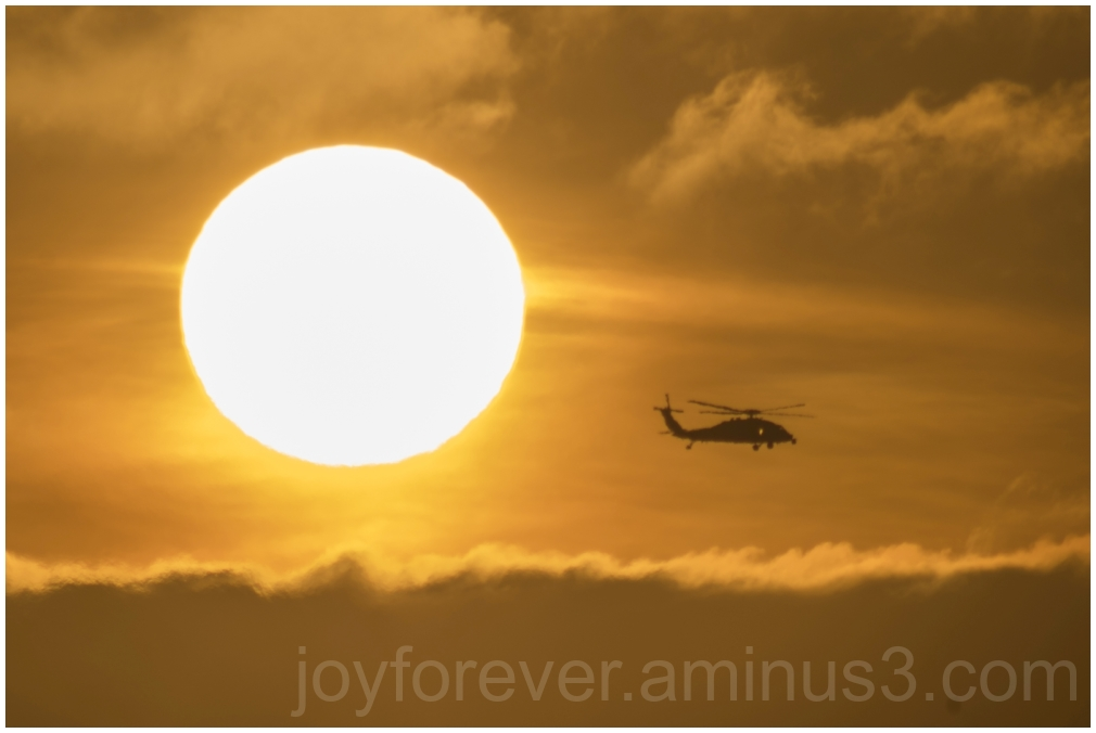 sun sunset SanDiego Helicopter clouds