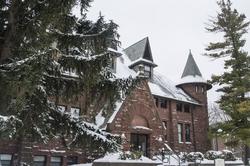 LakeForest Illinois College Snow winter